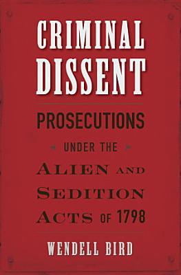 Criminal Dissent