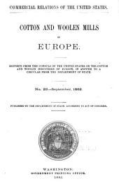 Consular Reports: Commerce, Manufactures, Etc, Volume 7