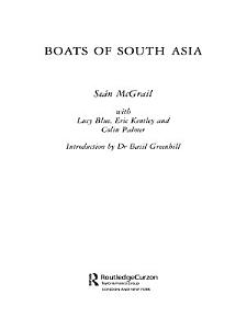 Boats of South Asia Book