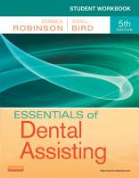 Student Workbook for Essentials of Dental Assisting   E Book PDF