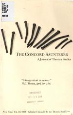 The Concord Saunterer