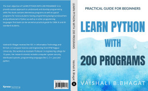 LEARN PYTHON WITH 200 PROGRAMS PDF