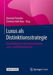Luxus als Distinktionsstrategie PDF