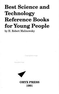 Best Science and Technology Reference Books for Young People PDF