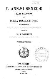 L. Annaei Seneca ... opera declamatoria