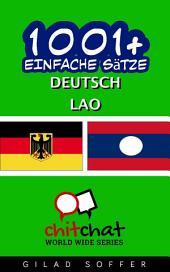 1001+ Einfache Sätze Deutsch - Lao