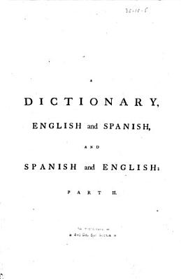 A Dictionary English and Spanish  and Spanish and English PDF