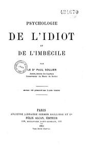 Psychologie de l'idiot et de l'imbécile