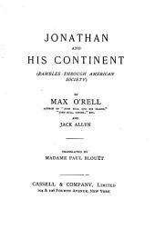 Jonathan and His Continent: (Rambles Through American Society)