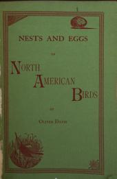 Egg Check List and Key to the Nests and Eggs of North American Birds