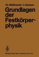 Grundlagen der Festk  rperphysik PDF