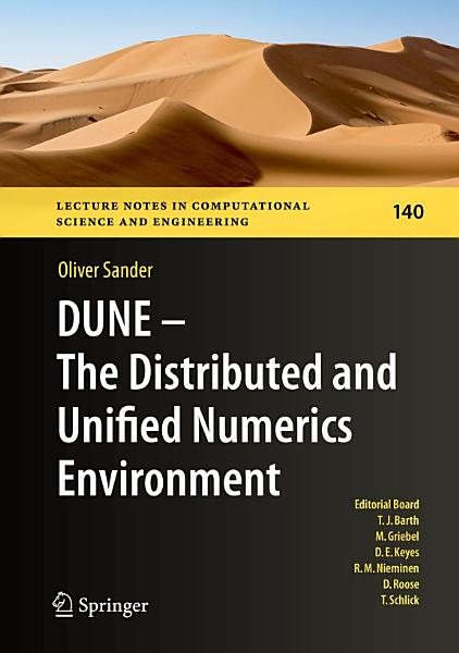 Download DUNE     The Distributed and Unified Numerics Environment Book