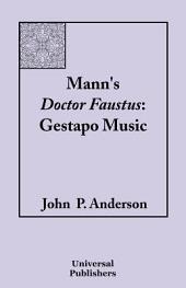 Mann's Doctor Faustus: Gestapo Music