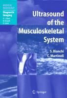 Ultrasound of the Musculoskeletal System PDF