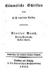 Sämmtliche Schriften von van der Velde, Karl Franz: Bände 4-5
