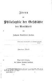Herder's Werke: Bände 4-5