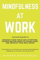 Mindfulness At Work PDF