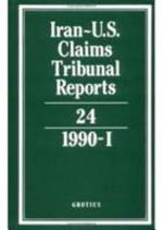 Iran-U.S. Claims Tribunal Reports: Volume 24