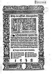 Hip. de Mar. Auogadra. Solennis... Hippolyti de Marsilijs Bononien. Lectura super titu. C. ad l. corne. de sica... (Carmen J. A. Bensai)