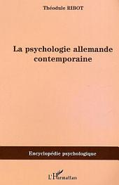 Psychologie allemande contemporaine