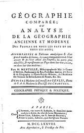 Géographie physique et politique