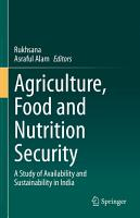 Agriculture  Food and Nutrition Security PDF
