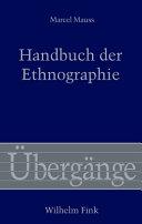 Handbuch der Ethnographie PDF
