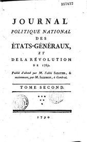 Journal politique-national des Etats Généraux et de la Révolution de 1789