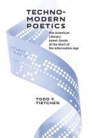 Technomodern Poetics PDF