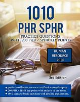 1010 PHR   SPHR PRACTICE QUESTIONS WITH 200 PHR   SPHR KEY POINTS PDF