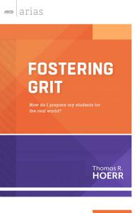 Fostering Grit Book