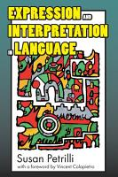 Expression and Interpretation in Language PDF