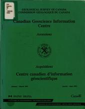 Commission G  ologique Du Canada PDF