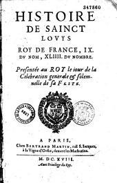Histoire de Sainct Louys,... par Pierre Matthieu