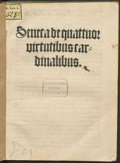 Seneca de quattuor virtutibus cardinalibus