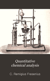 Quantitative Chemical Analysis: Volume 2