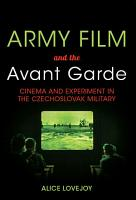 Army Film and the Avant Garde PDF