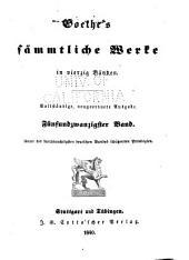 Sämmtliche Werke: in vierzig Bänden, Bände 25-26