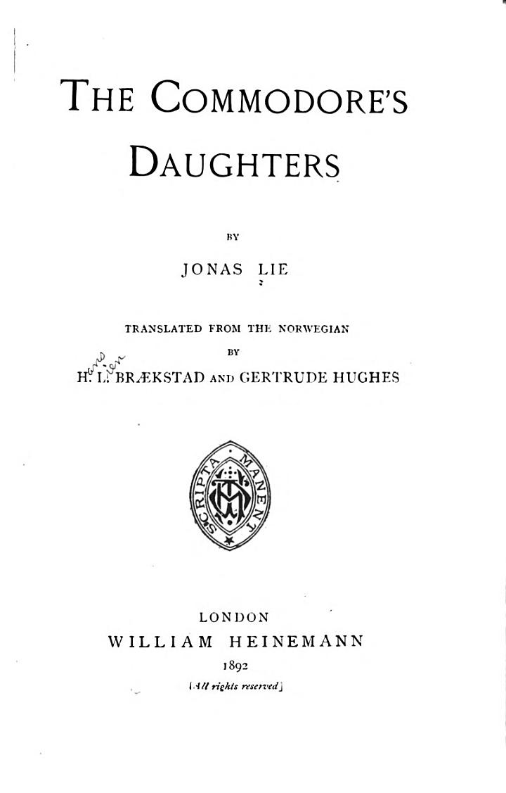 The Commodore's Daughters