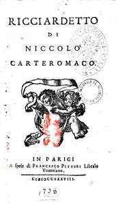 Ricciardetto di Niccolo Carteromaco: Volume 2