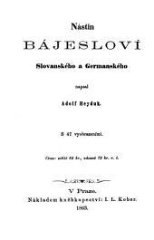 Nástin bájesloví Slovanského a Germanského: 4