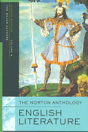 The Norton Anthology of English Literature  The middle ages through the restoration and the eighteenth century Book
