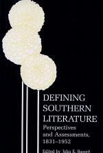Defining Southern Literature