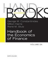 Handbook of the Economics of Finance: Corporate Finance
