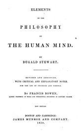 Elements of the Philosophy of the Human Mind: In Two Parts