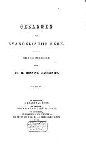 Gezangen der Evangelische Kerk