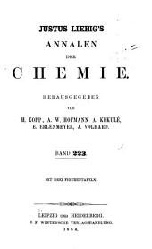 Justus Liebigs Annalen der Chemie: Bände 223-224