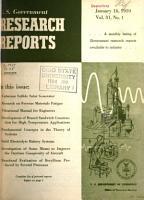 U S  Government Research Reports PDF