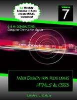 Web Design for Kids PDF
