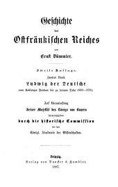 Geschichte des Ostfrankischen Reiches